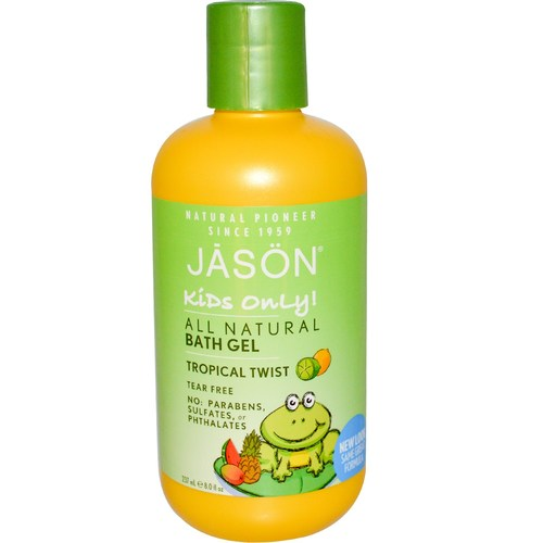 Kids Only! All Natural Bath Gel