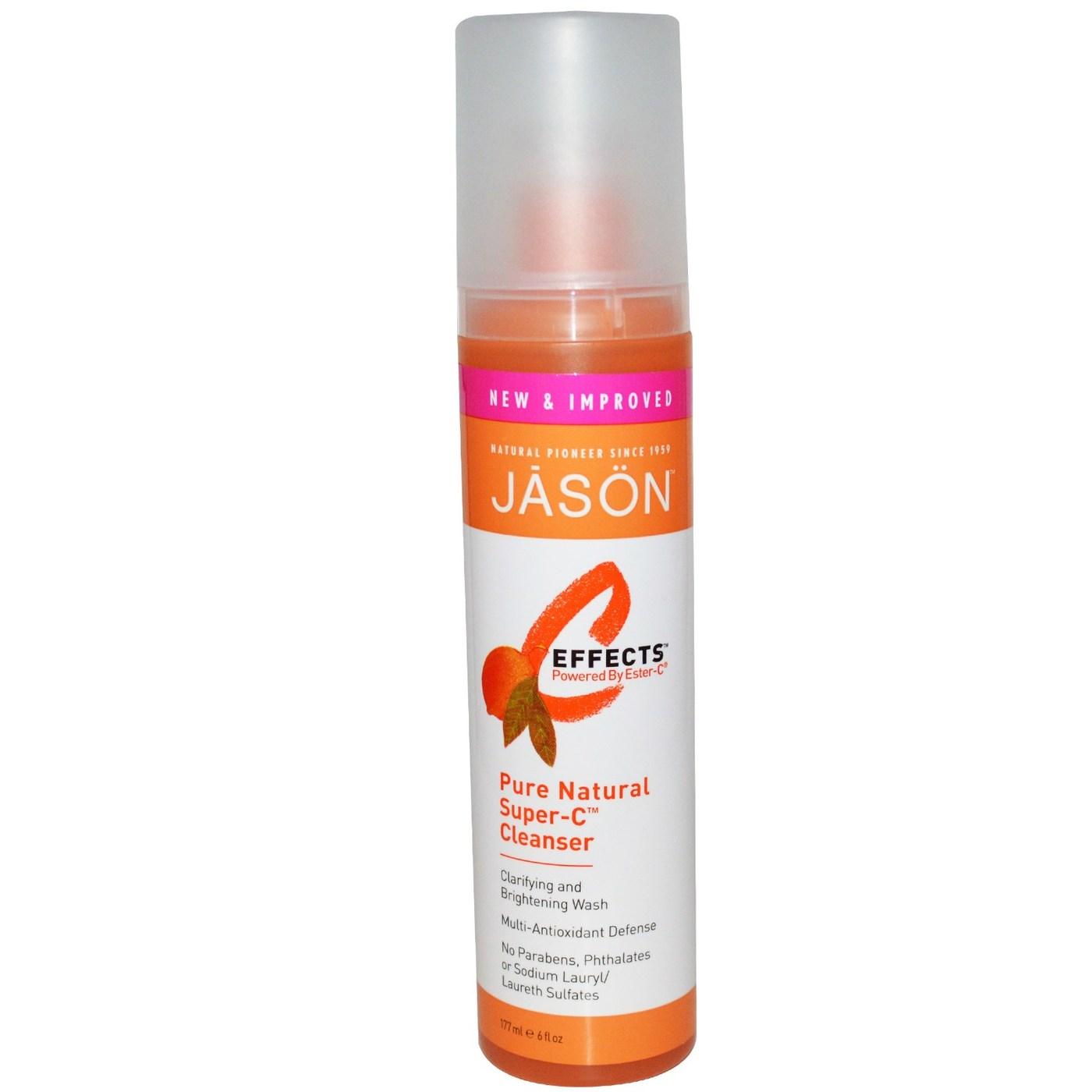 Jason Natural Cosmetics Super C Cleanser 6 Oz Evitamins Uk