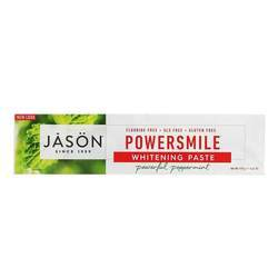 Jason Natural Cosmetics PowerSmile Toothpaste Whitening Paste Powerful Peppermint