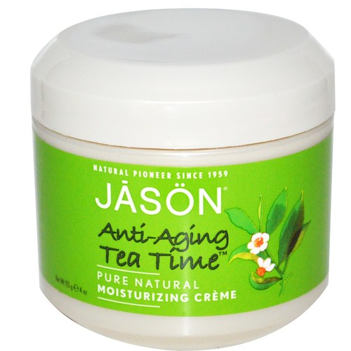 Tea Time, Green Tea Anti-Aging Moisturizing Crème