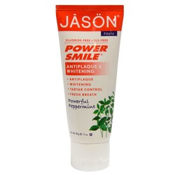 Jason Natural Cosmetics Power Smile Antiplaque  Whitening Toothpaste