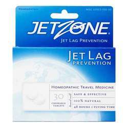 JetZone Jet Lag Prevention - Homeopathic