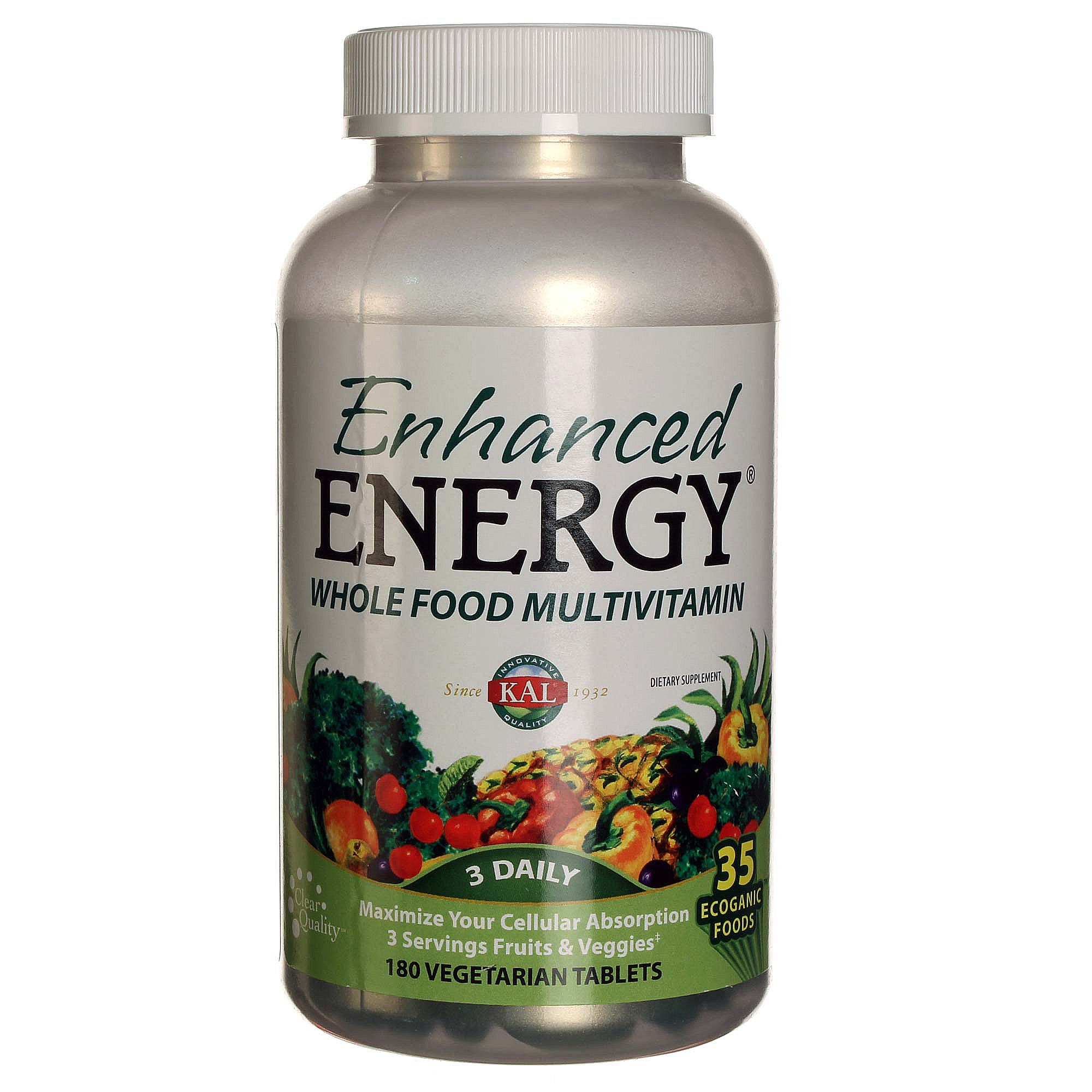 Enhanced Energy Whole Food Multivitamin Review