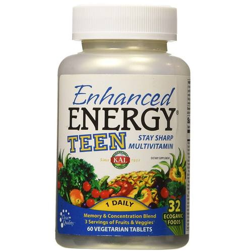 Enhanced Energy TEEN Whole Food Multivitamin