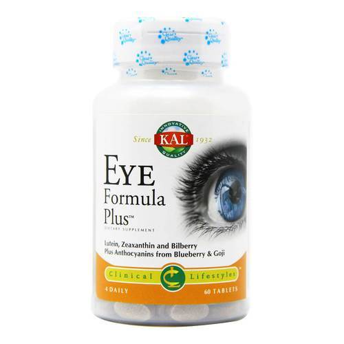 Kal Eye Formula Plus - 60 Tablets - 12040_front.jpg