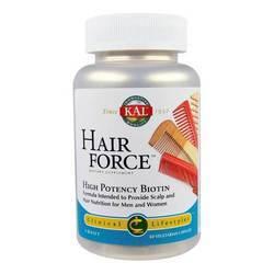 Kal Hair Force High Potency Biotin