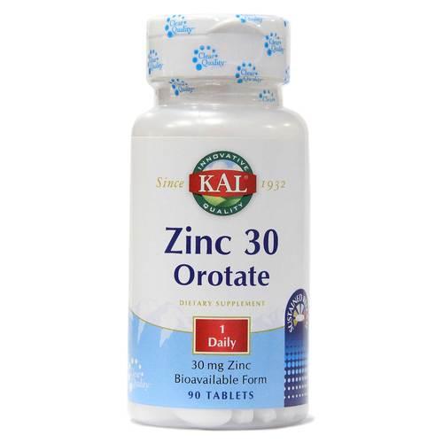 Kal Zinc 30 Orotate 90 Tablets Evitamins India