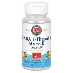 Kal GABA L-Theanine Stress B Lozenge