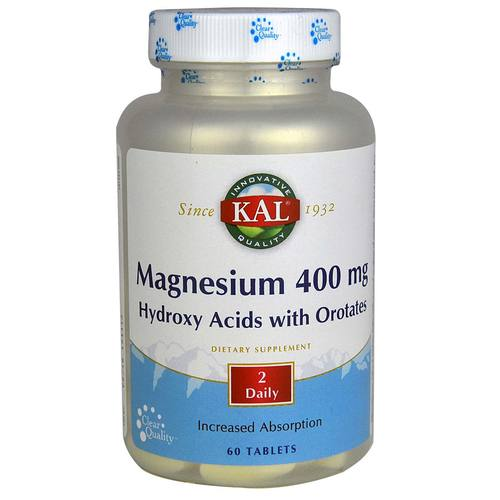 Magnesium Hydroxy Acids with Orotates