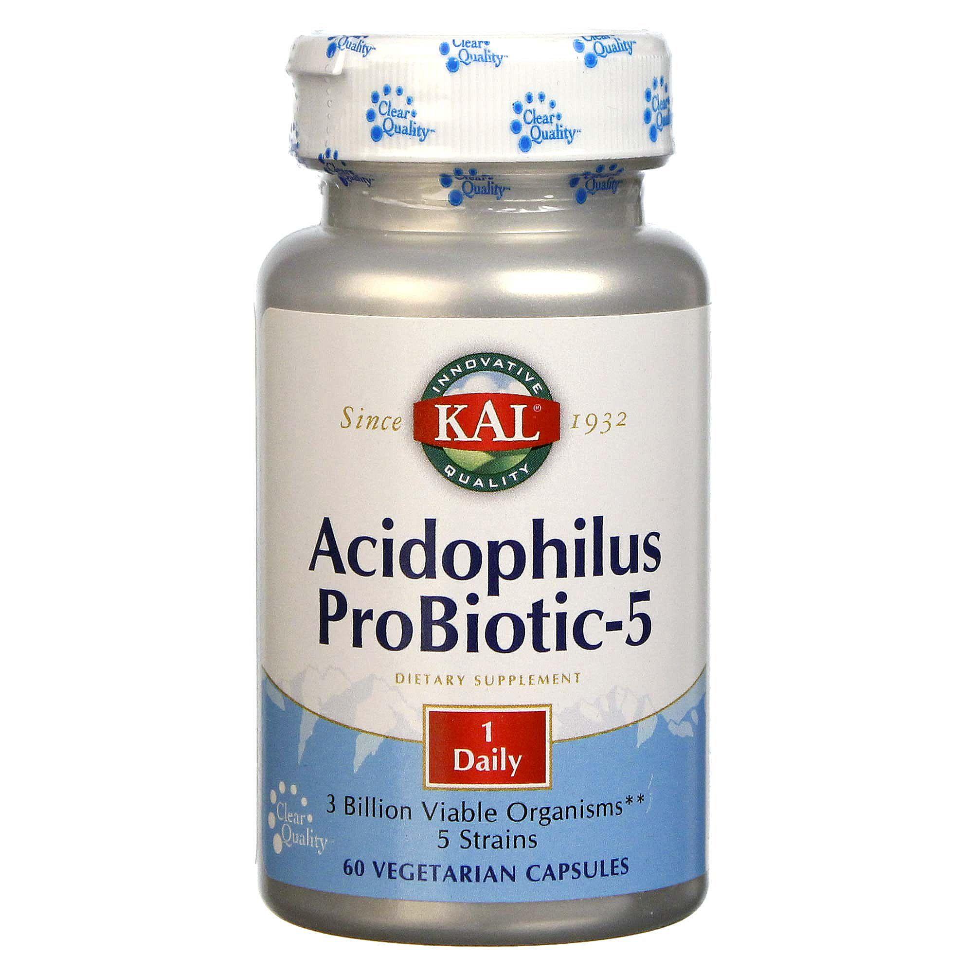 Kal Acidophilus Probiotic 5 60 Capsules