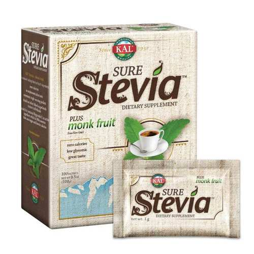 Pure Stevia Plus Monk Fruit