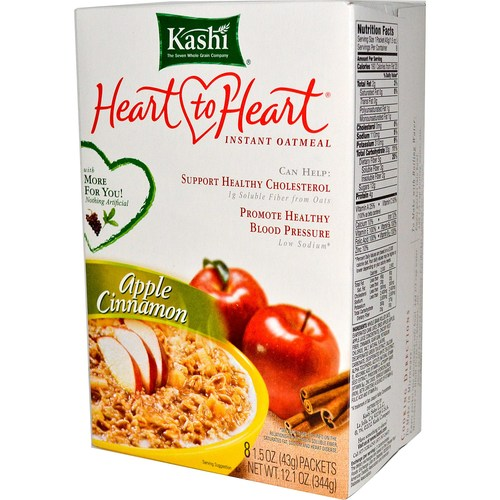 Heart to Heart Instant Oatmeal