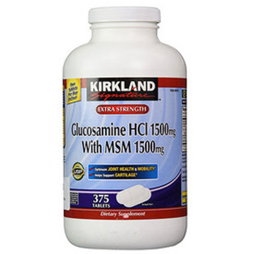 Glucosamine HCI with MSM