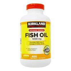 Kirkland Signature Fish Oil