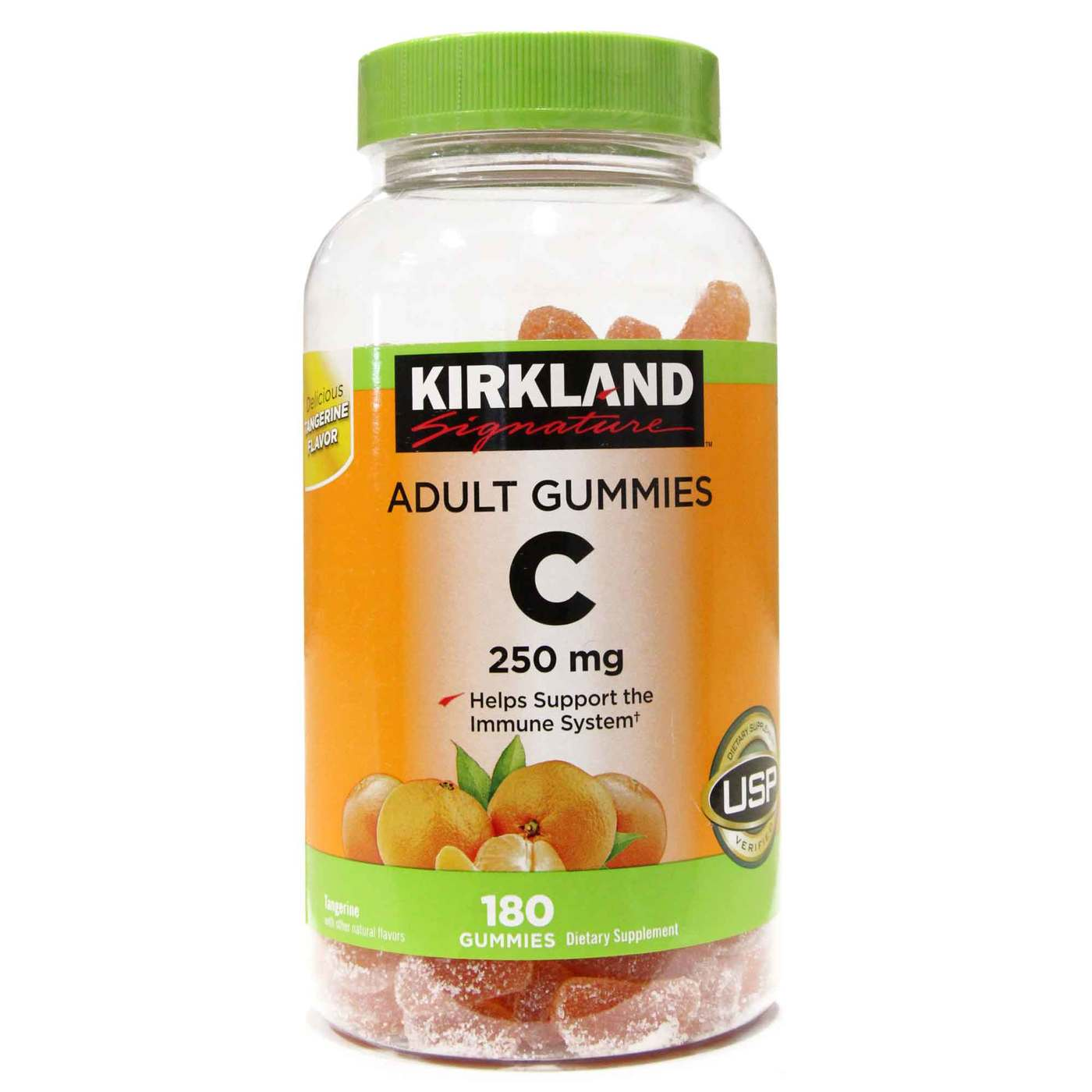 Kirkland Signature Vitamin C Adult Gummies - 250 mg - 180