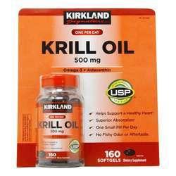 Kirkland Signature Krill Oil 500 mg