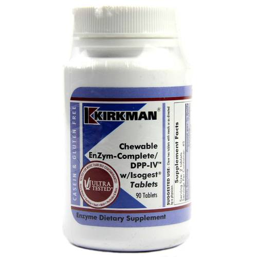 Chewable EnZym-Complete/DPP-IV with Isogest