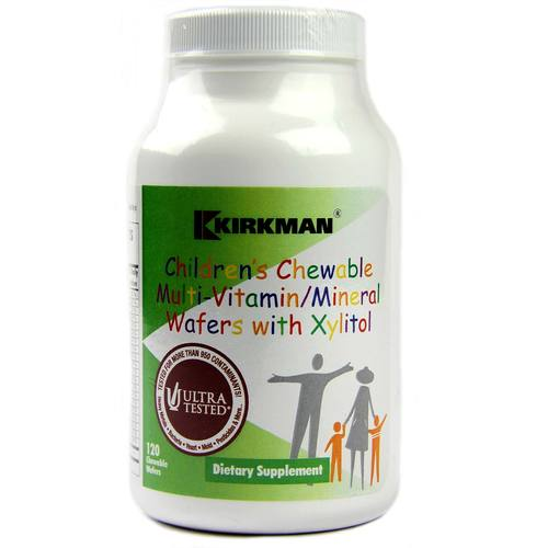 Children's Chewable Multi-Vitamin and Mineral with Xylitol