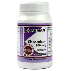 Kirkman Labs Chromium 100 mcg