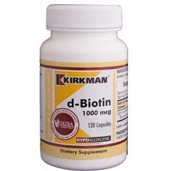 Kirkman Labs d-Biotin