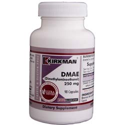 Kirkman Labs DMAE (Dimethylaminoethanol) 250 Mg