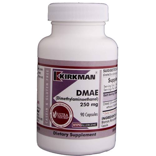 DMAE (Dimethylaminoethanol) 250 Mg