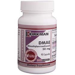 Kirkman Labs DMAE (Dimethylaminoethanol) 50 Mg
