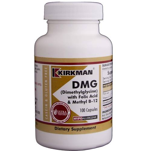DMG (Dimethylglycine) with Folic Acid and B12