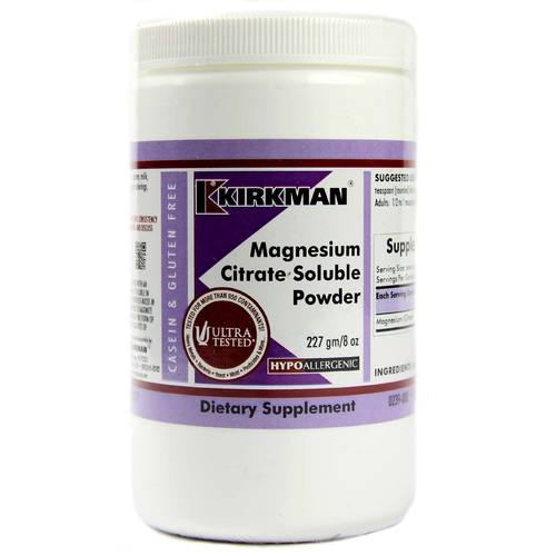 Magnesium Citrate Soluble Powder