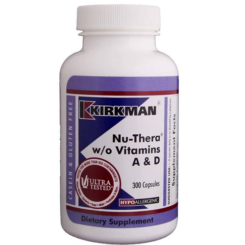 Nu-Thera without Vitamins A  D