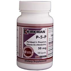 Kirkman Labs P-5-P 50 mg