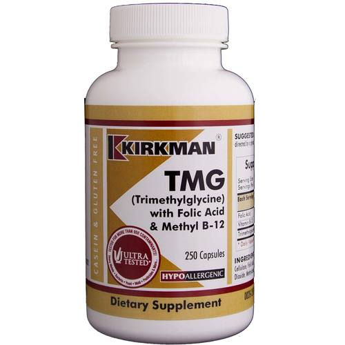 TMG with Folic Acid and B12