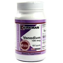 Kirkman Labs Vanadium 100 Mcg