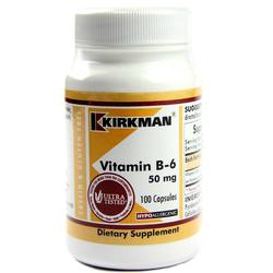 Kirkman Labs Vitamin B-6 50 Mg