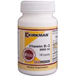 Kirkman Labs Vitamin D-3