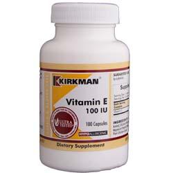 Kirkman Labs Vitamin E 100 IU
