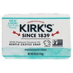 Kirk's Natural Premium Coconut Oil Castile Soap