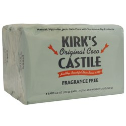 Kirks Natural Products Original Coco Castile Bar Soap