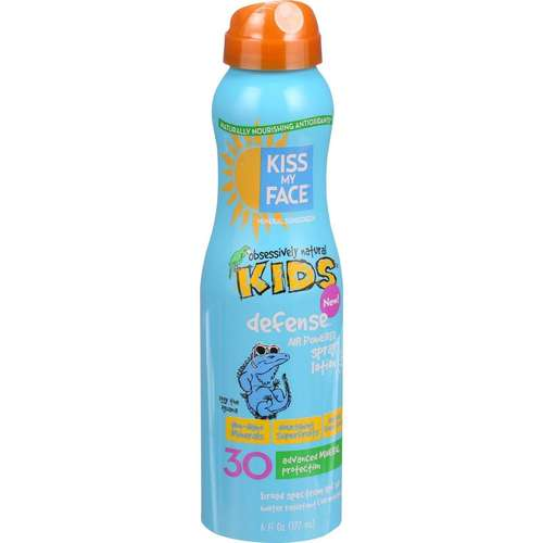 Kids Defense Continuous Spray Mineral Sunscreen