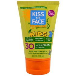 Kiss My Face Organics Kids Face  Body Mineral Sunscreen