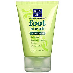 Kiss My Face Peppermint Foot Scrub