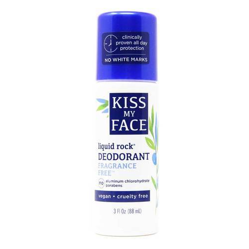 Kiss My Face Natural Liquid Rock Deodorant Fragrance Free - 3 fl oz - 19865_front.jpg