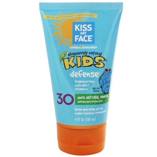 Kiss My Face Kids Natural Mineral Sunblock Lotion SPF 30 - 4 oz - 19907_a.jpg