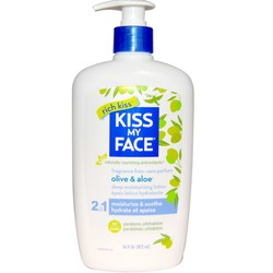 Kiss My Face Olive and Aloe Body Lotion