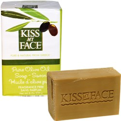 Kiss My Face Fragrance Free Pure Olive Oil Soap