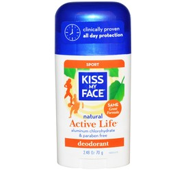 Kiss My Face Natural Active Life Deodorant