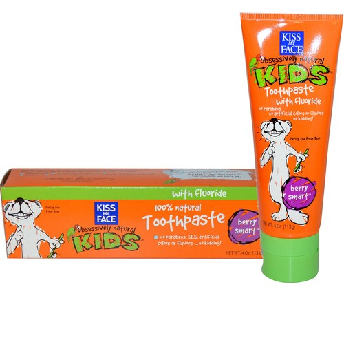 Obsessively Natural Kids Toothpaste with Fluoride