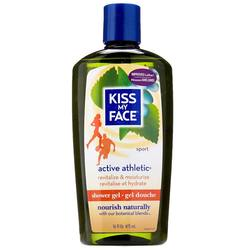 Kiss My Face Active Athletic Bath  Shower Gel