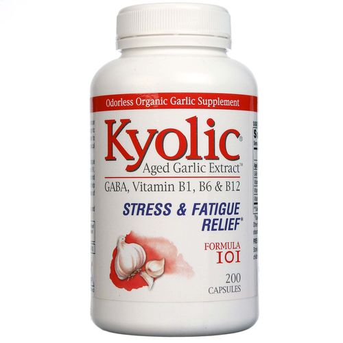Kyolic Formula 101 Garlic Extract Energy with Yeast