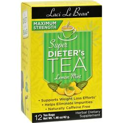 Laci Le Beau Maximum Strength Super Dieter's Tea